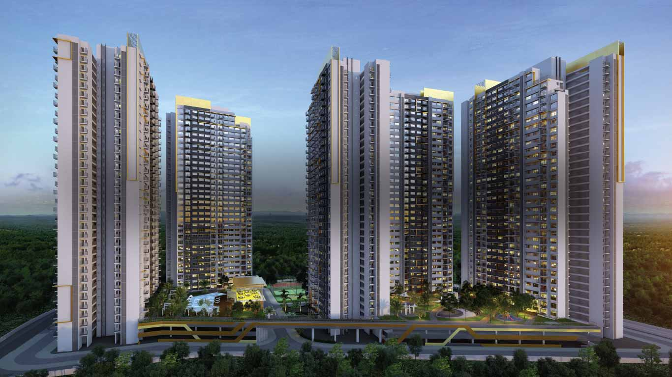 Amanora Gold Towers.