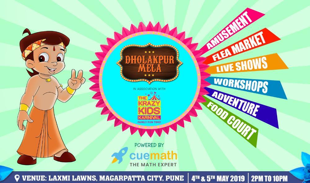 Dholakpur Mela Powered by Cuemath at Hadapsar, Pune.