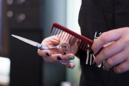Clip Art Hair Design.