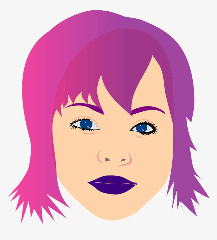 Transparent Short Hair Clipart, HD Png Download.