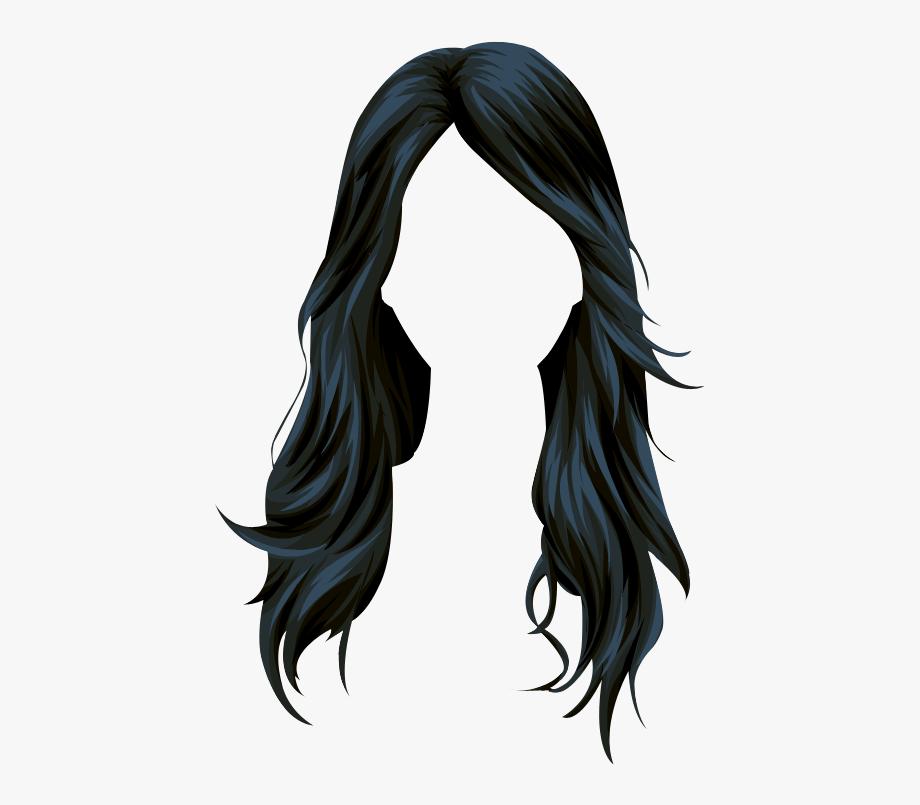 Long Hair Png.