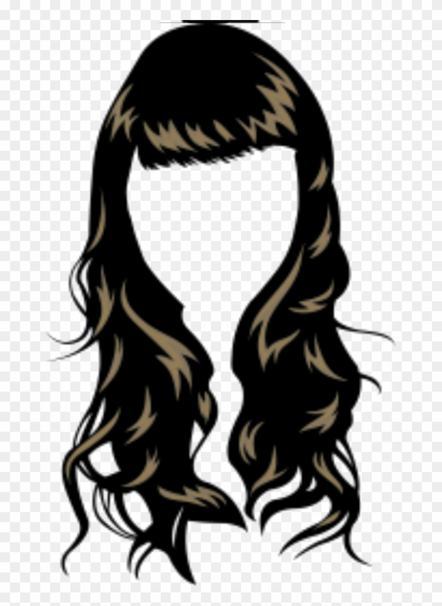 Waves Haircut Png.