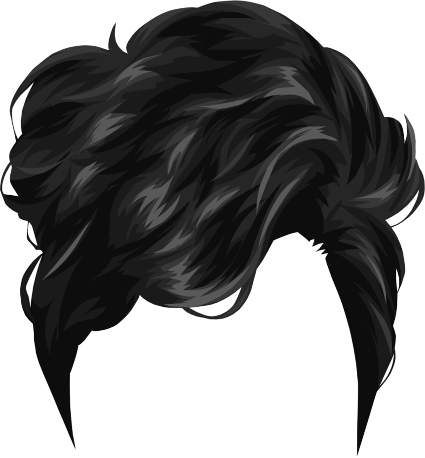 Hairstyles Png Clipart For Photoshop Download.