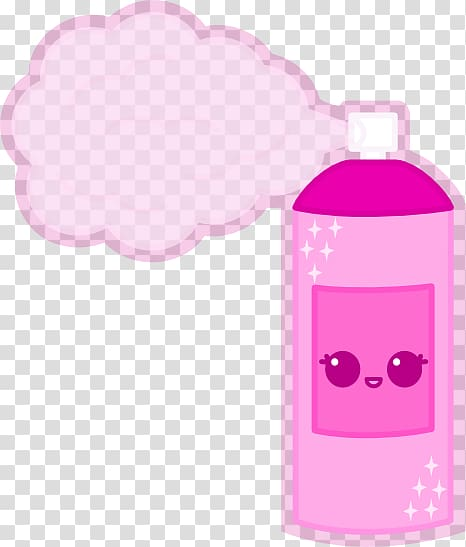Hair spray Drawing Aerosol spray , Hairspray transparent.