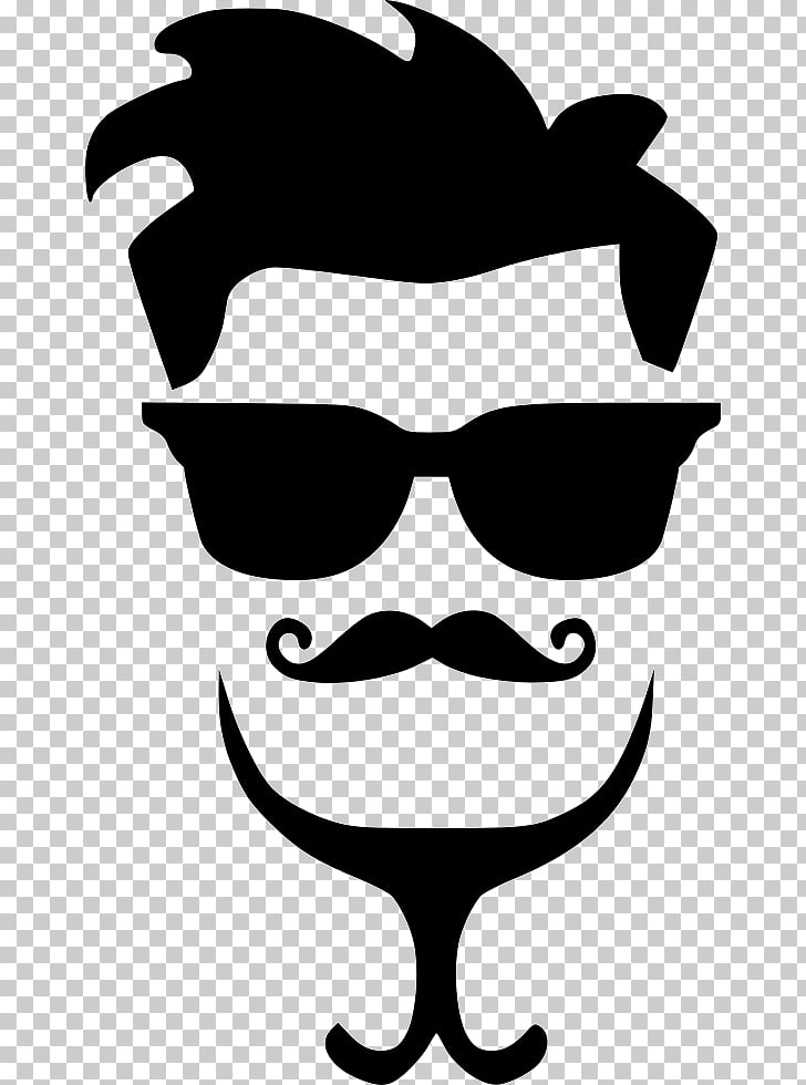 Hairstyle Moustache , hair style PNG clipart.