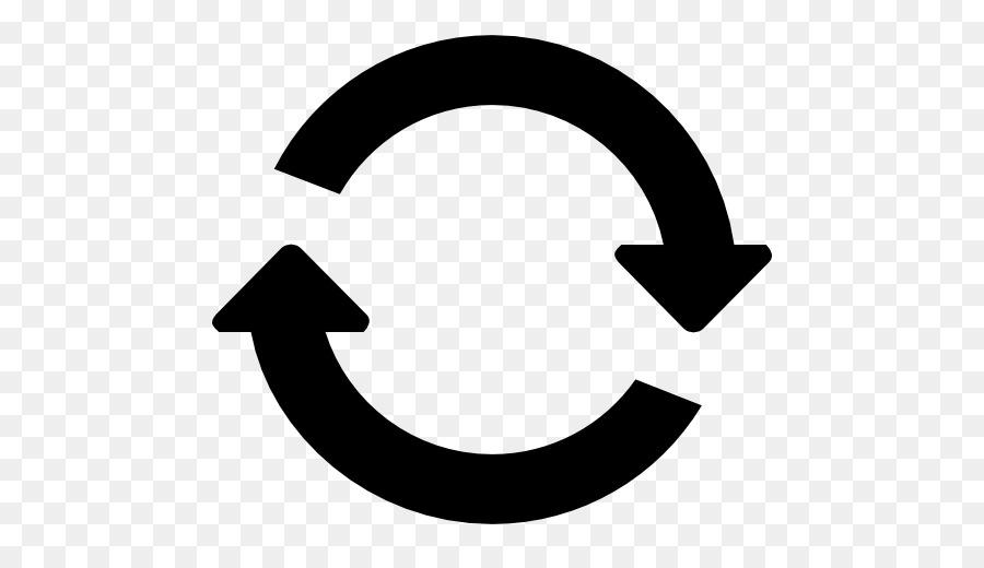 Halbkreis mit Pfeil im Uhrzeigersinn Clip.
