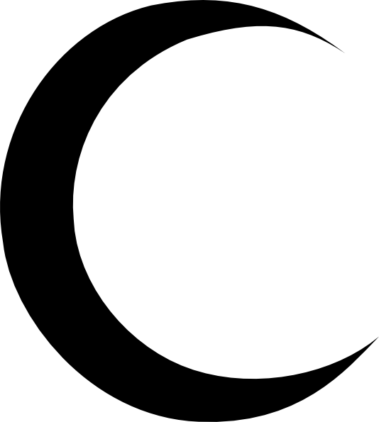 Image result for crescent moon.
