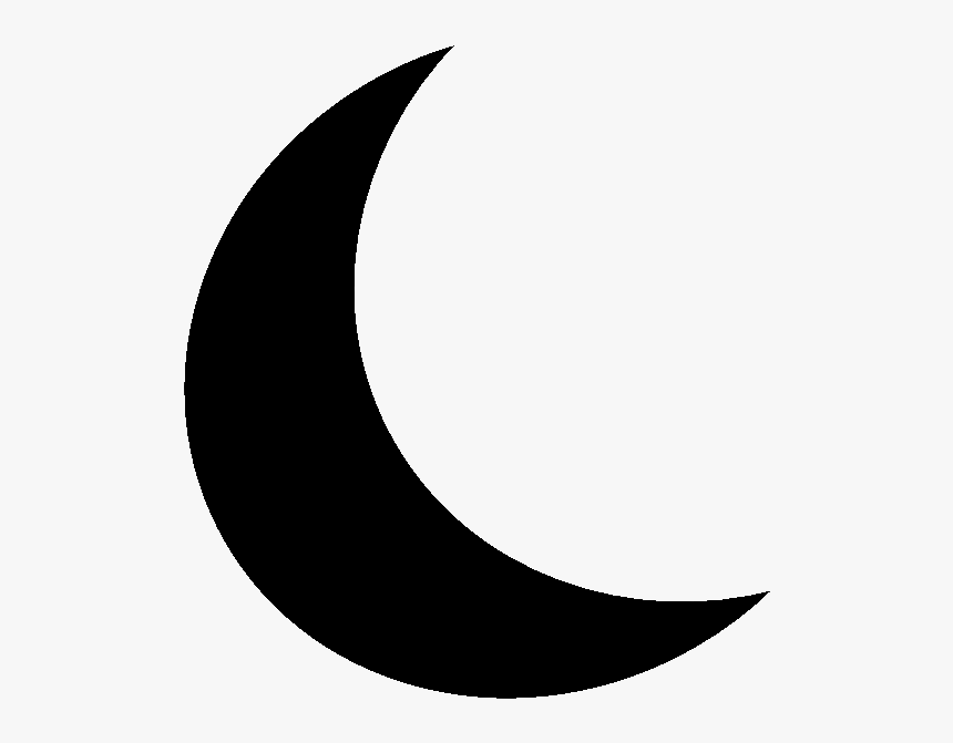 Half Moon Clipart.