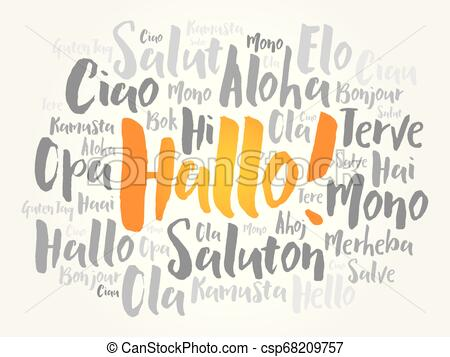Hallo Vector Clip Art Royalty Free. 455 Hallo clipart vector EPS.