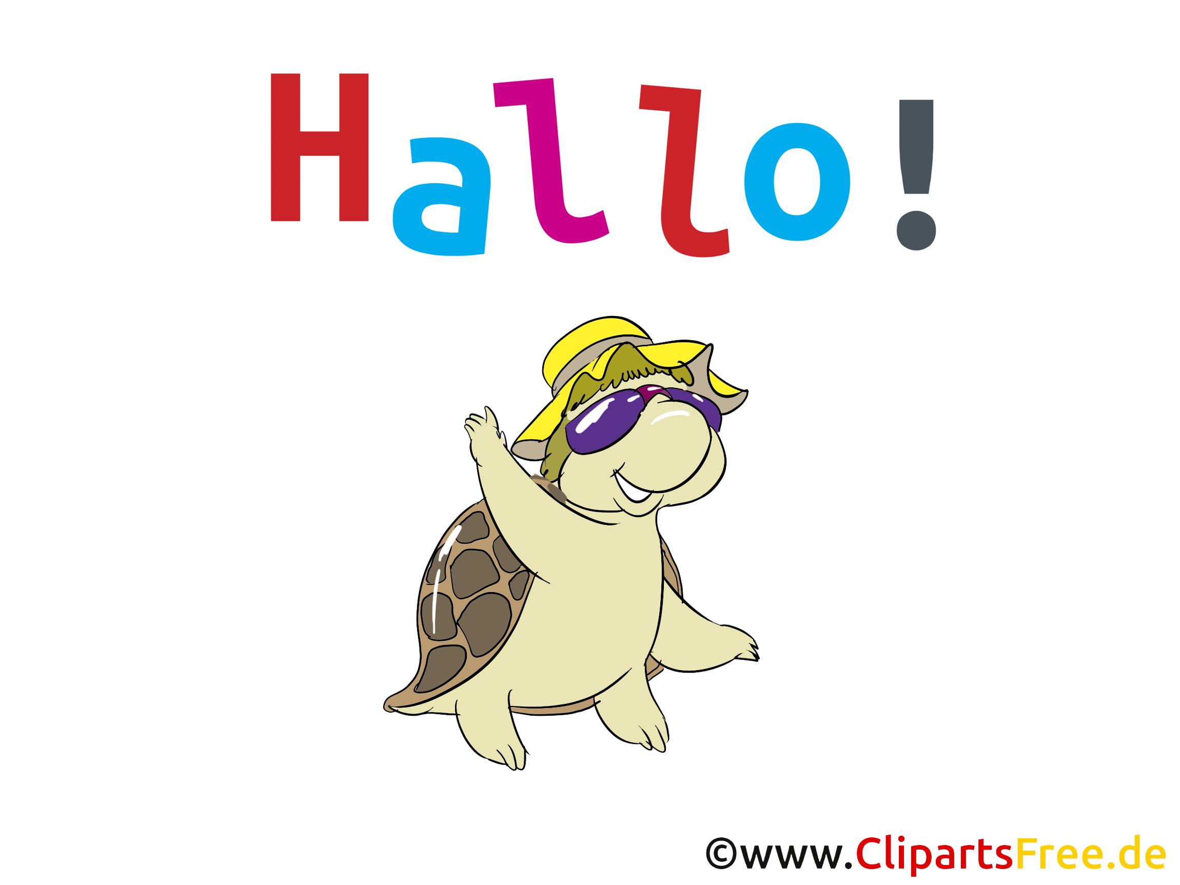 Hallo Clipart, Bild, Grafik, Karte, Cartoon.