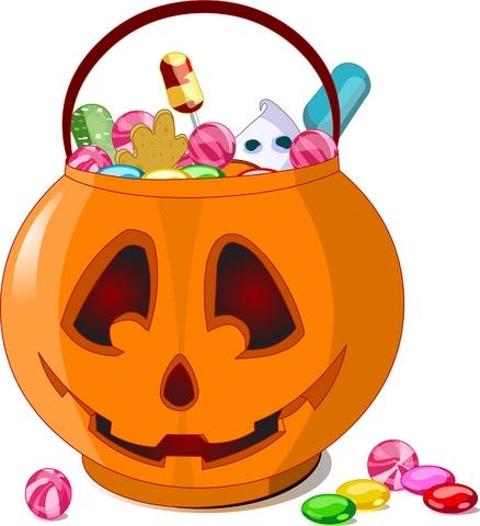 Clipart Halloween Candy.