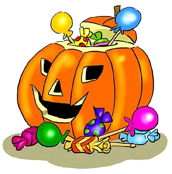 Free Halloween Candy Clipart.