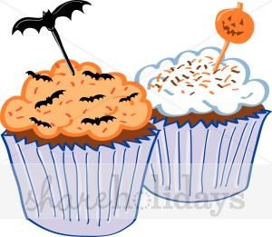 Halloween Dessert Clipart.