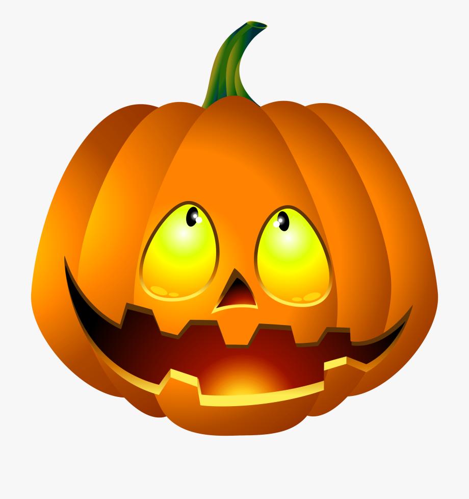Free Halloween Pumpkin Clipart.