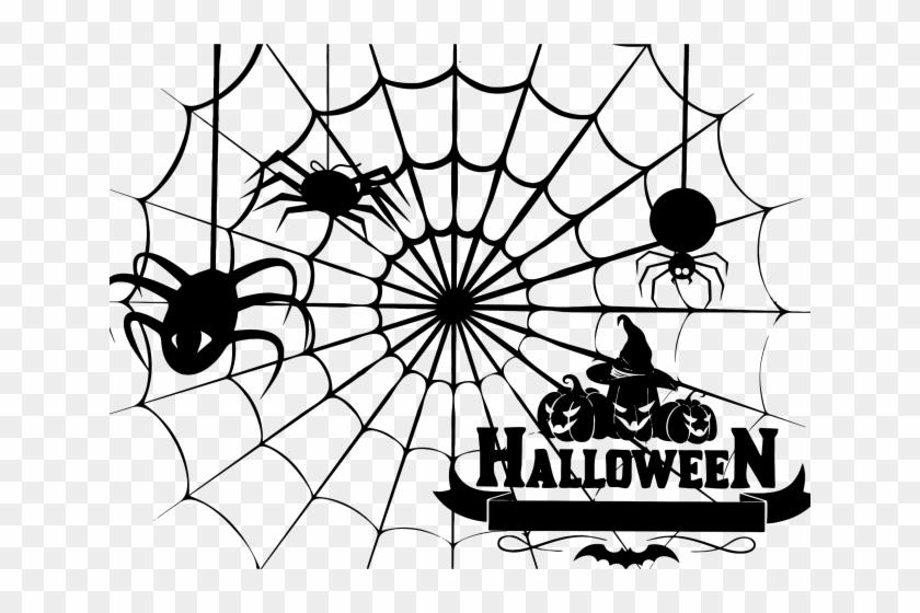 Spider Web Clipart Spinder.
