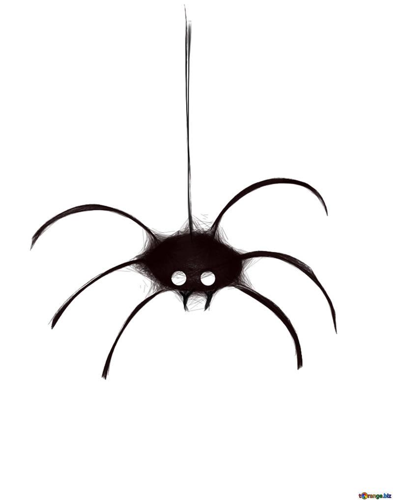 Clipart for halloween clipart for halloween spider halloween № 40486.