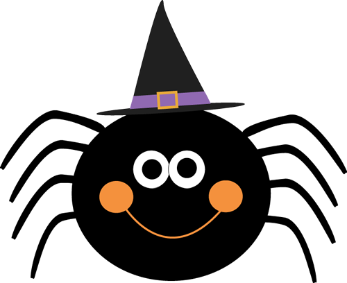 Spider Wearing Witches Hat ….