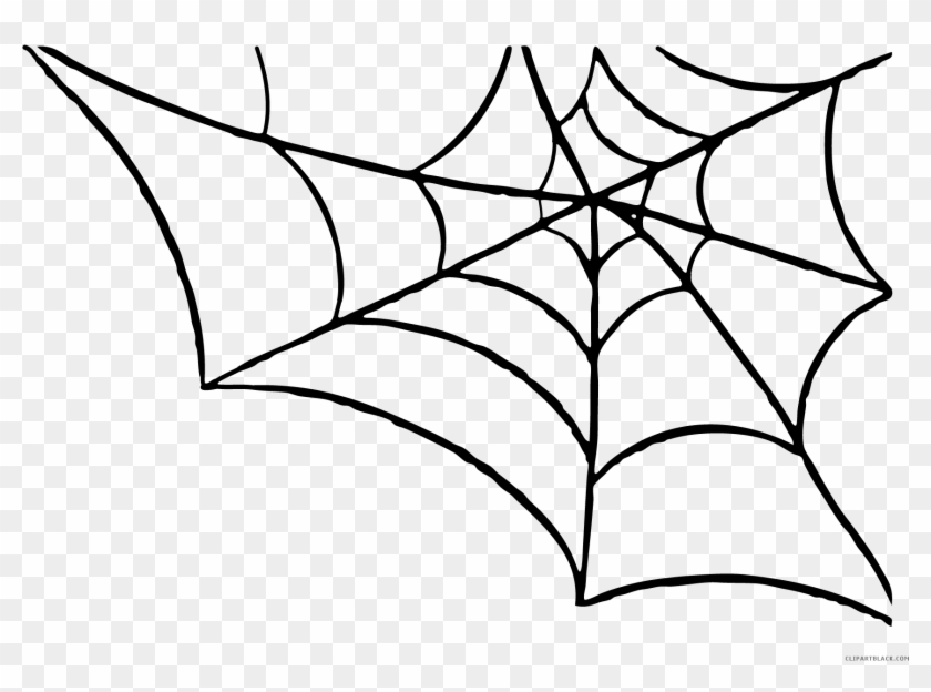 Halloween Spider Web Clipart.