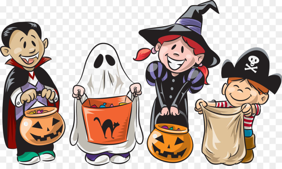 Halloween Trick Or Treat clipart.