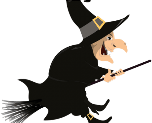 Witch Clipart Transparent Background.