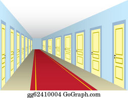 Hallway Clip Art.