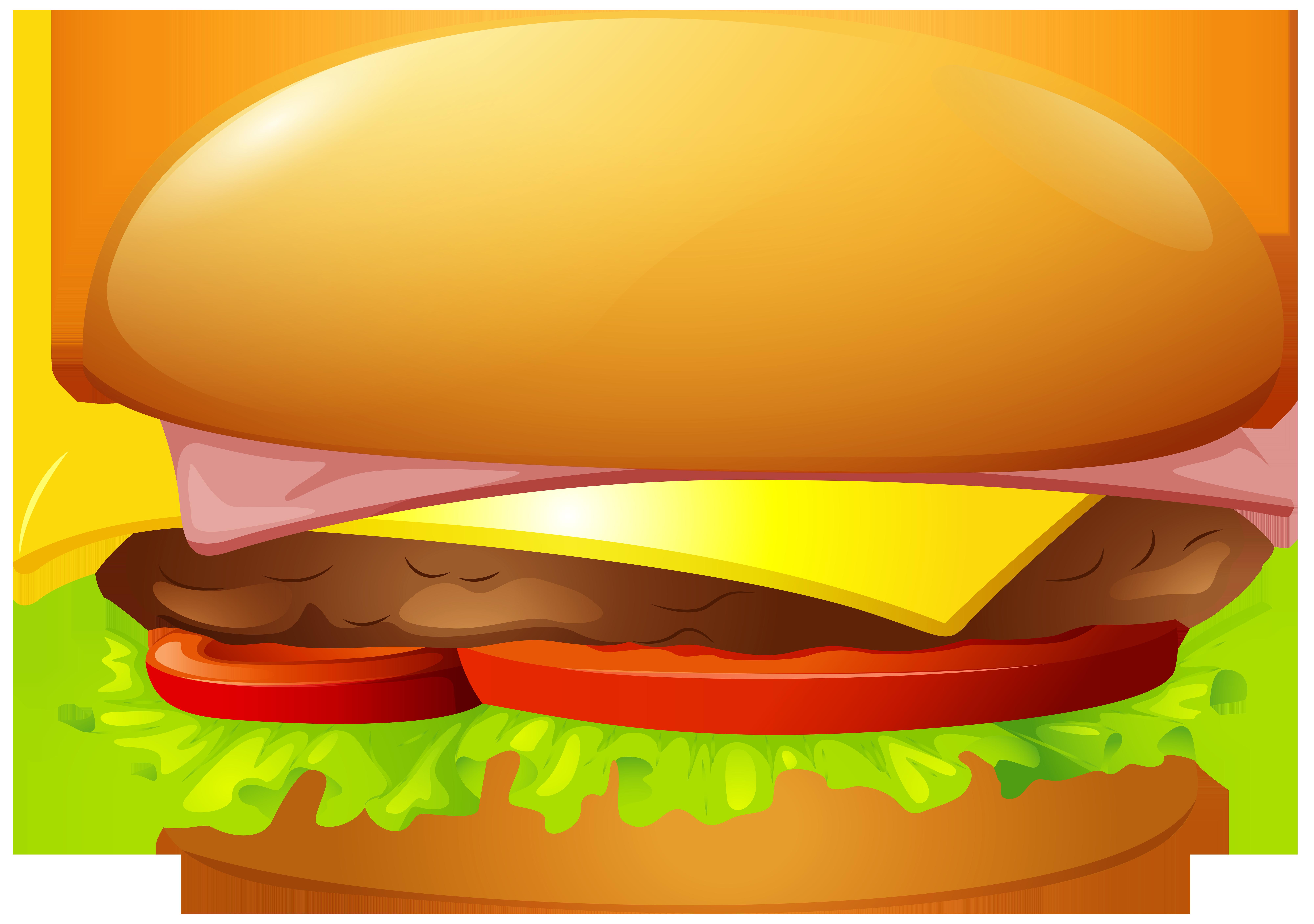 Hamburger PNG Clip Art.