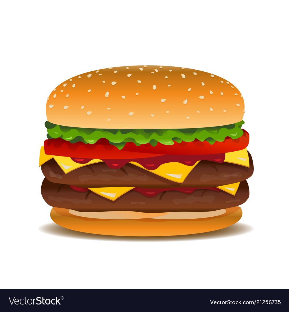 Hamburger clip art.