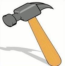 Clipart hamer 1 » Clipart Portal.