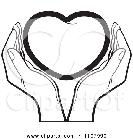 Two Hands Holding Clipart.