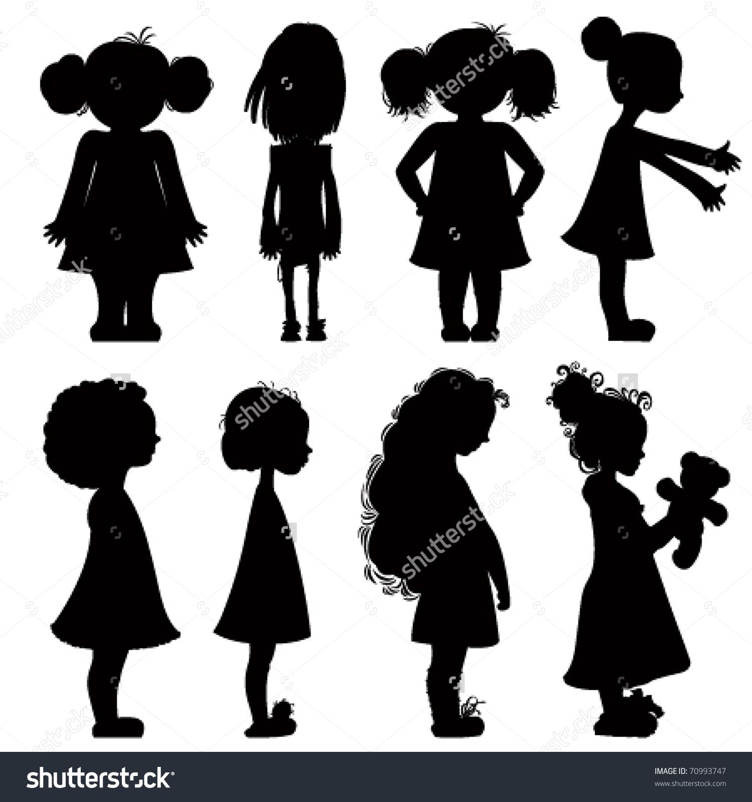 Silhouette Woman Reaching Up Clipart.