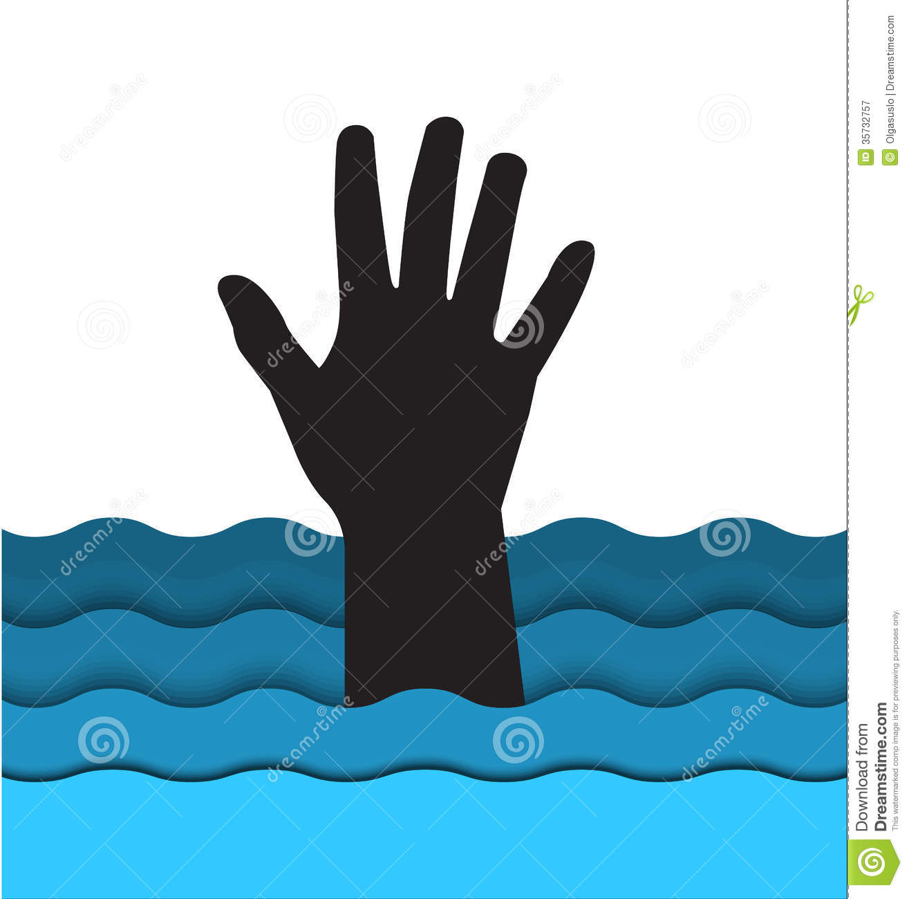 Clipart Reaching For Water.
