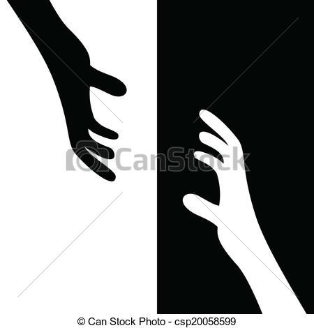 Grabbing The Hands.