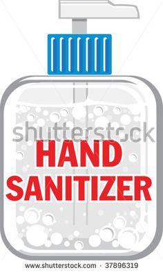 Hand Sanitizer Clipart.