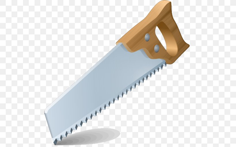 Hand Saw Hand Tool Clip Art, PNG, 512x512px, Saw, Blade.