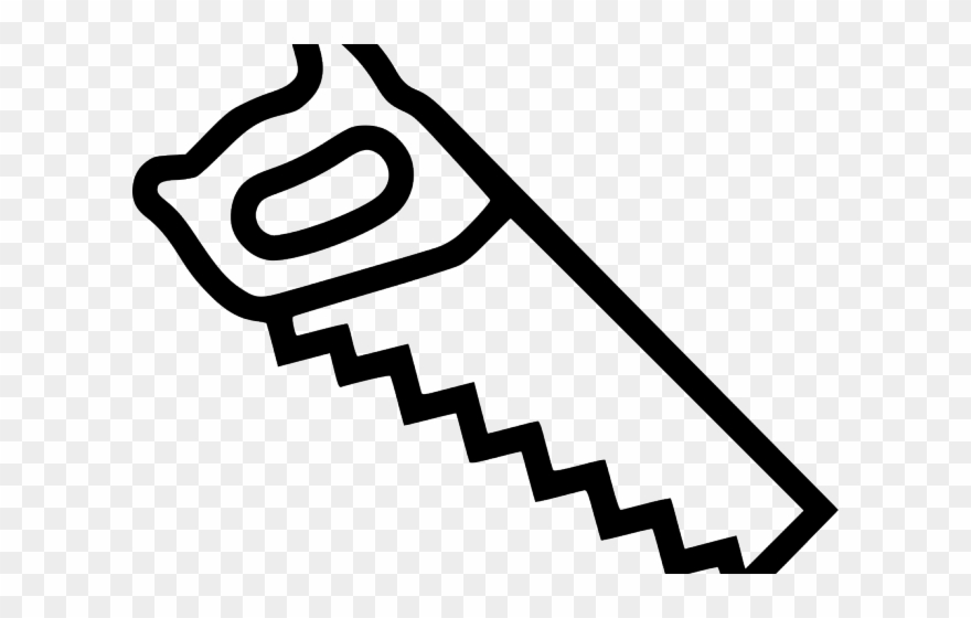 Hand Saw Clipart Svg.