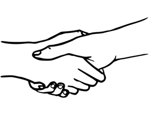 804 shaking hands clip art pictures.