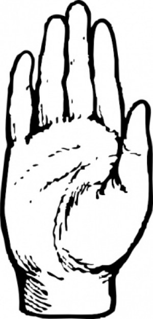 Clipart Hand Waving Animated.