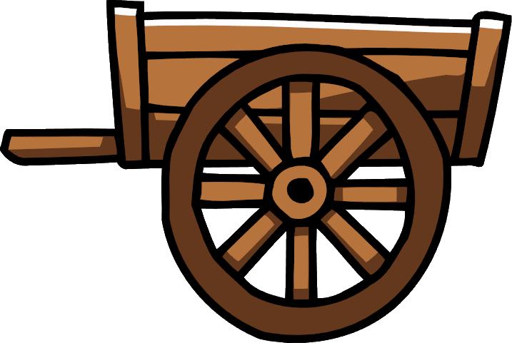 Wagon clipart hand cart, Wagon hand cart Transparent FREE.
