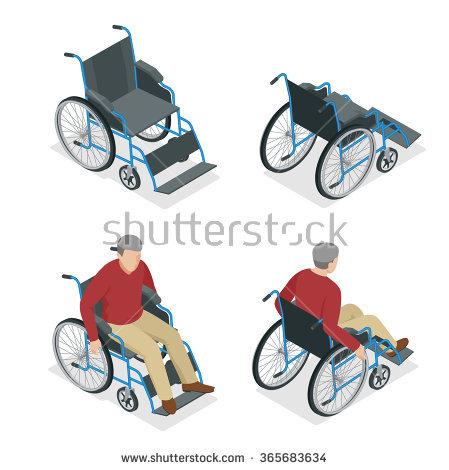 Wheelchair Banque d'Image Libre de Droit, Photos, Vecteurs et.