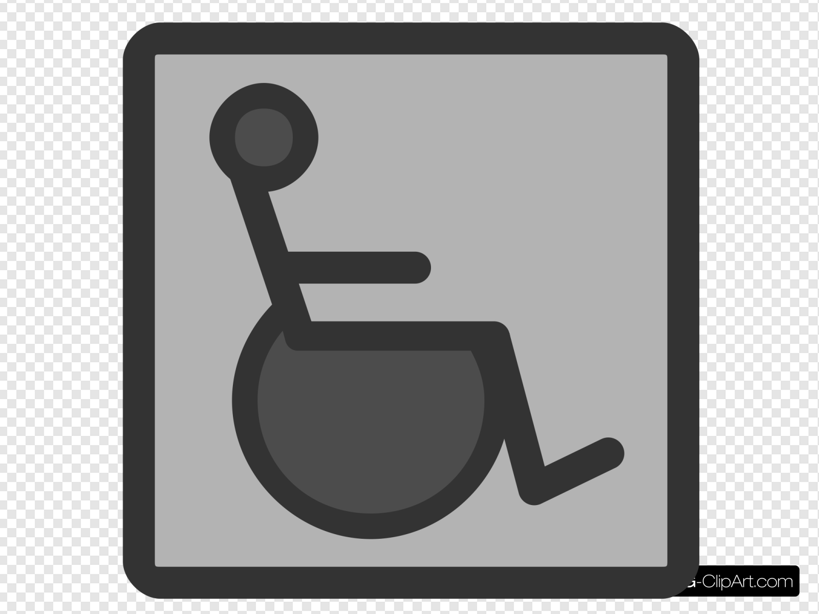 Handicap Accessibility Clip art, Icon and SVG.