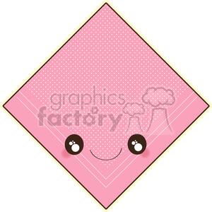 Handkerchief cartoon character vector clip art image clipart. Royalty.