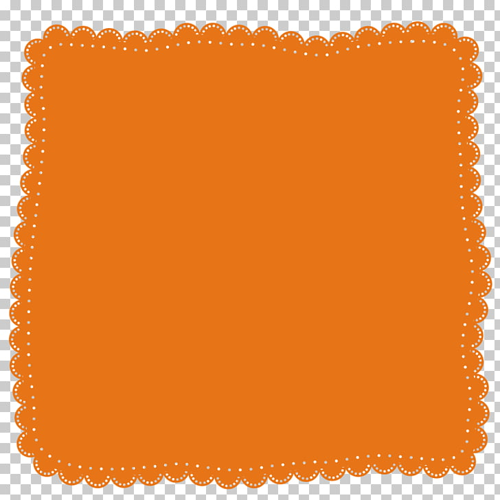 Handkerchief Designer Gratis, Orange handkerchief PNG.