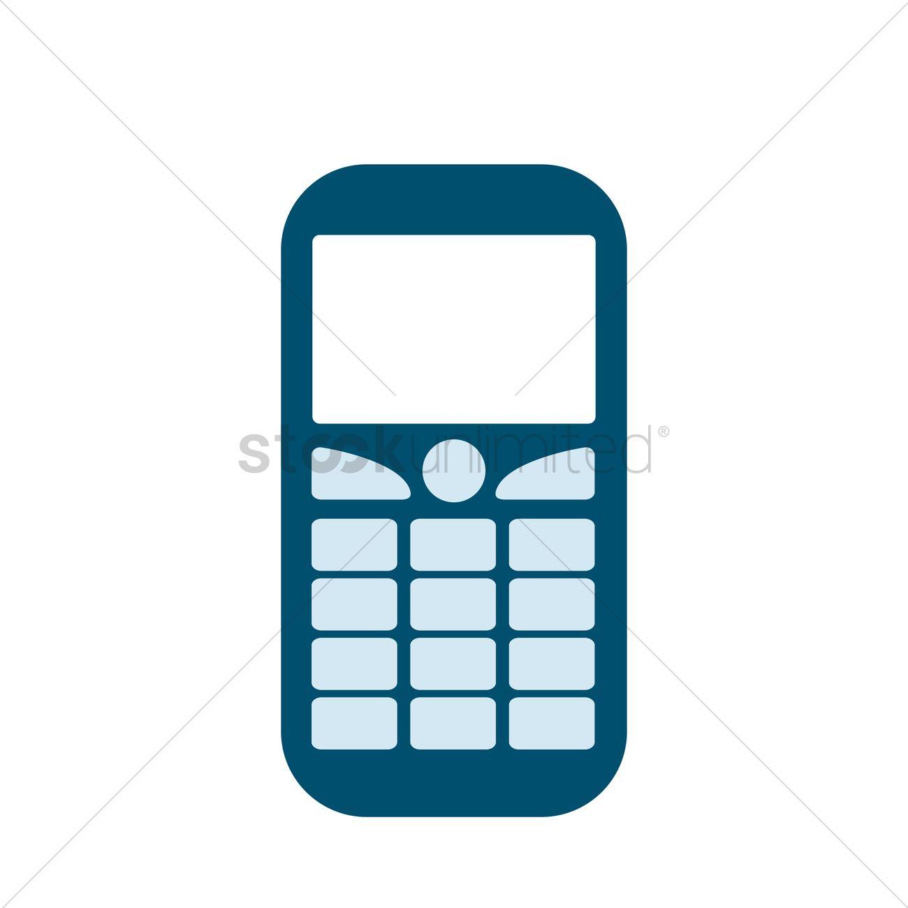 Free A handphone Vector Image.