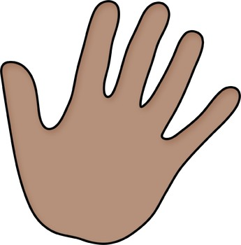 Borders: Multicultural Hands Borders and Frames / Hands Clip Art.