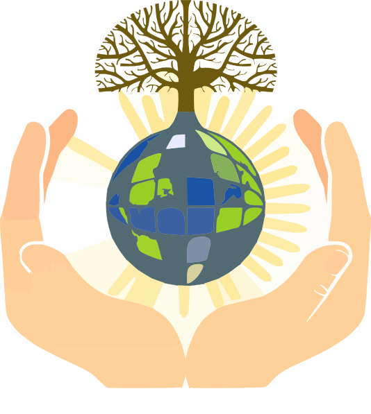 Hands Holding Earth Clip Art at Clker.com.