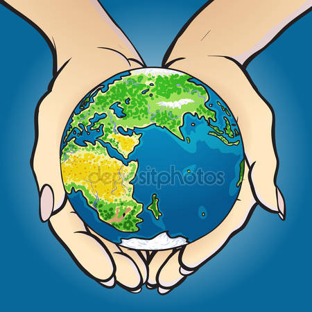 Hands holding globe Stock Vectors, Royalty Free Hands holding.