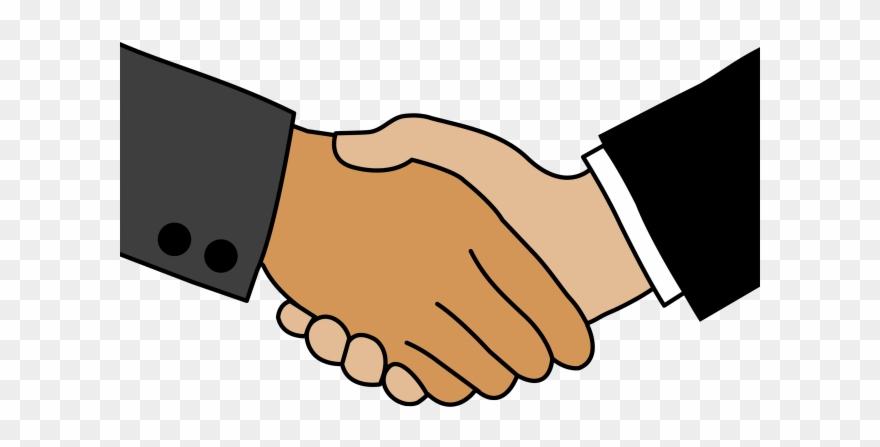 Matte Clipart Shake Hand.