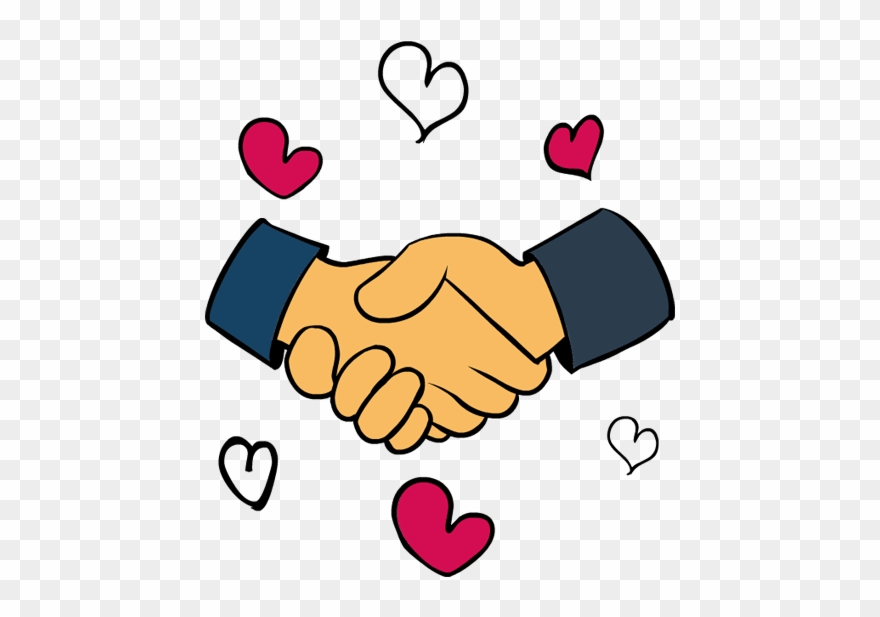 Clip Art King Martin Luther Day Handshake Hearts Big.