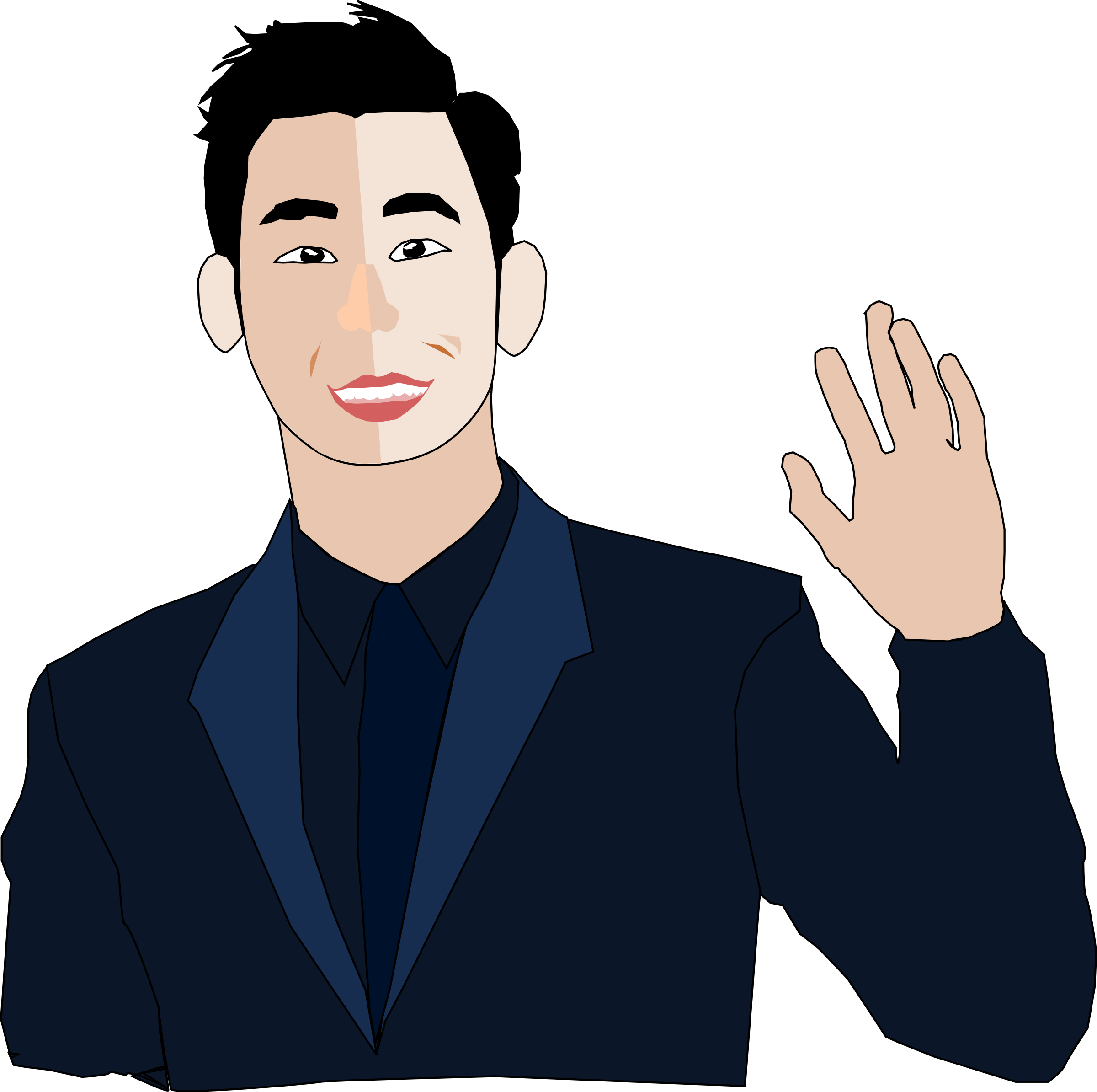 Guy clipart handsome, Guy handsome Transparent FREE for.