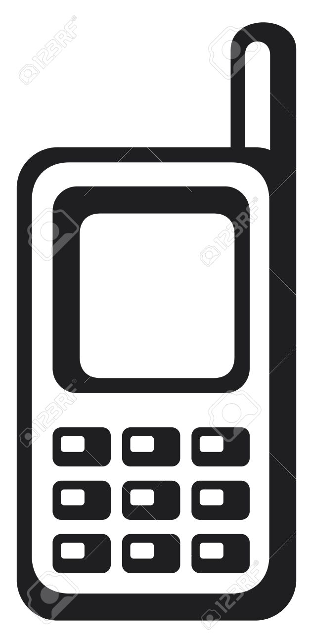 Mobile Phone Icon Royalty Free Cliparts, Vectors, And Stock.